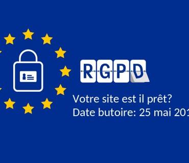 Conformité avec la loi RGPD, votre site est il prêt?